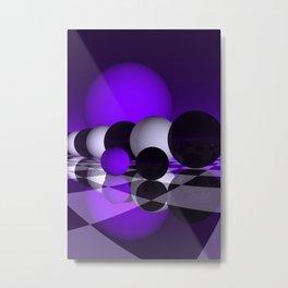 go violet -02- Metal Print