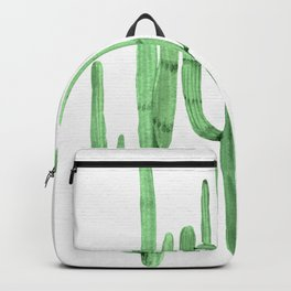 Cactus Trio Green by Nature Magick Backpack