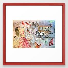 Gypsy Dance Framed Art Print