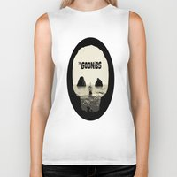 the goonies Biker Tanks featuring THE GOONIES by Rocky Rock