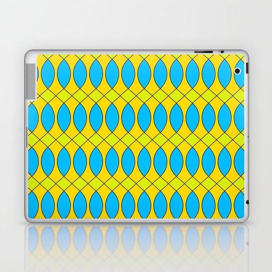 Pattern KUKI,yellow Laptop & iPad Skin