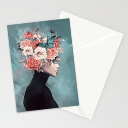 blooming 3 Stationery Cards