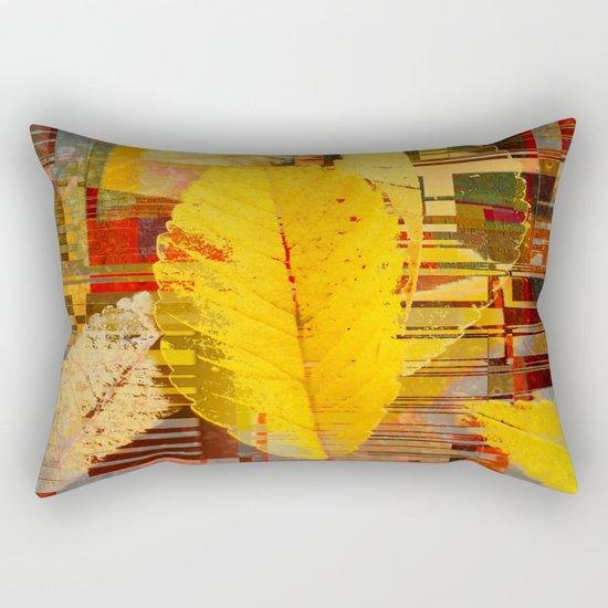 fallin' into digital Rectangular Pillow