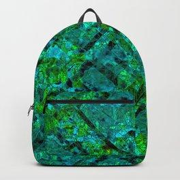 Vitrage (Turquoise) Backpack