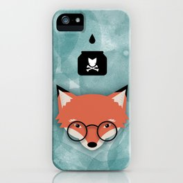 Smart Fox iPhone Case