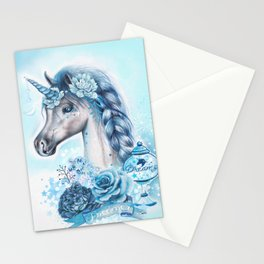 Dreamer Unicorn Stationery Cards