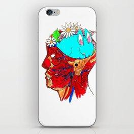 Funny Bunny Brain iPhone Skin