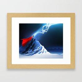 Odin's Son Framed Art Print