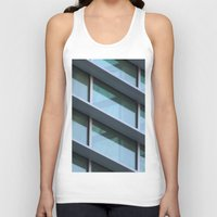architecture Tank Tops featuring Architecture by Alex Dodds