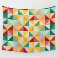 candy Wall Tapestries featuring Candy by According to Panda
