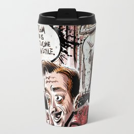 Twin Peaks - The Man From Another Place Travel Mug