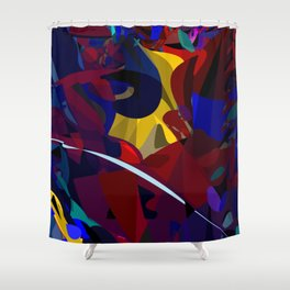 Fermentation Meditation Shower Curtain