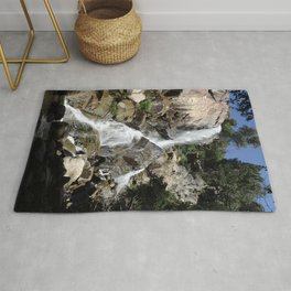 Waterfall in Kings Canyon Rug
