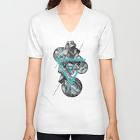 gta v V-neck T-shirts featuring ∆V∆ by maysgrafx