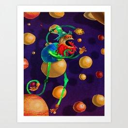 PlanetMuncher Art Print
