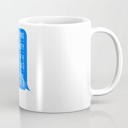 Believing in Happy Endings Coffee Mug