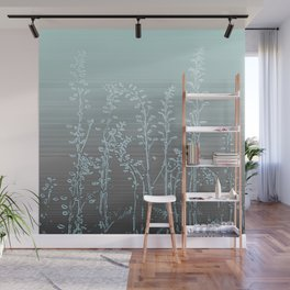 WILDFLOWERS - STRIPED OMBRE Wall Mural