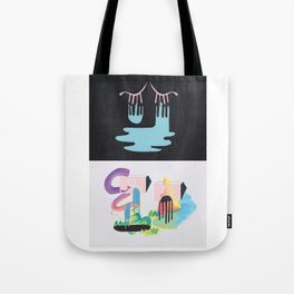 Crying Over Lost Wonder Lands Tote Bag