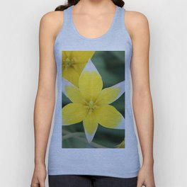 Yellow Tulip Dasystemon Tarda Unisex Tank Top