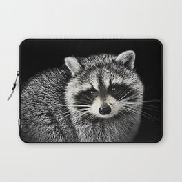 A Gentle Raccoon Laptop Sleeve