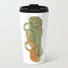 Golf Bag Patent Travel Mug