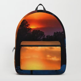 February Sunset Backpack