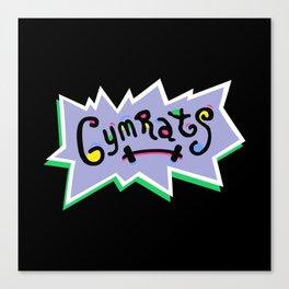Gym Rats Canvas Print