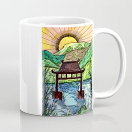 Sunset at the Water Gate Coffee Mug