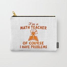 Math Teacher Carry-All Pouch