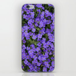 Tiny Purple Flowers iPhone Skin