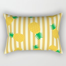 Pineapple with stripes Rectangular Pillow