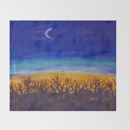 October Throw Blanket