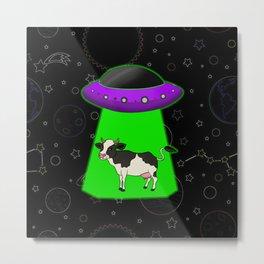 Alien Abduction Metal Print