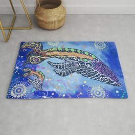 THE WHALES JOURNEY THE AWAKENING 2 Rug