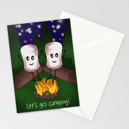 Let's Go Camping! Stationery Cards