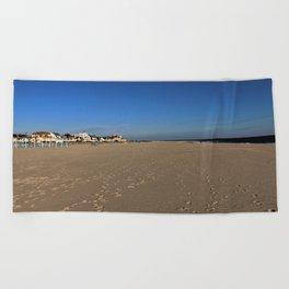 Footsteps Beach Towel