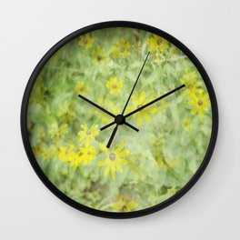 DaisesDaisesDaises Wall Clock