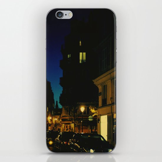 Paris by Night V iPhone & iPod Skin