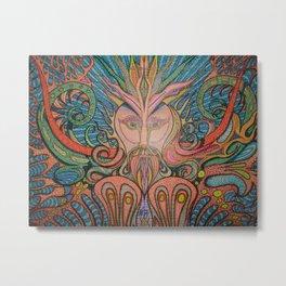 The Aquatic God Metal Print