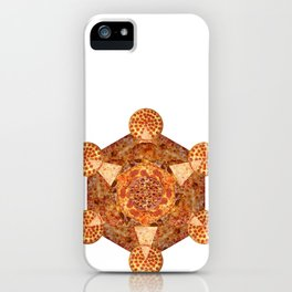 Metatron's Pizza iPhone Case