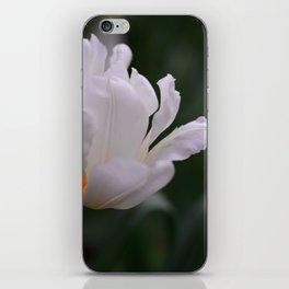 Expressive White Tulip iPhone Skin