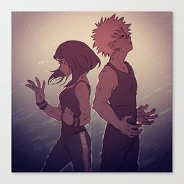 Kacchako - Strength Canvas Print