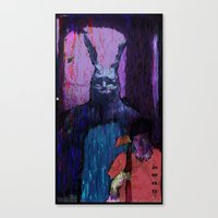 donnie darko Canvas Prints featuring Donnie Darko by brett66