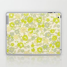 small floral in neon Laptop & iPad Skin