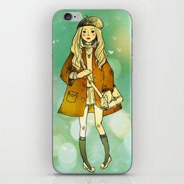 La Jeune Fille iPhone Skin