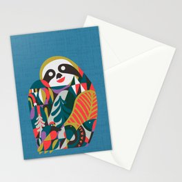 Nordic Sloth Stationery Cards