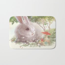 Flowers are Small Universe Bath Mat
