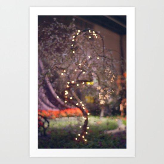 Queen's Tree Art Print