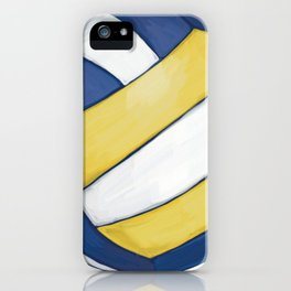Volleyball Art iPhone Case