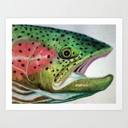 Feelin' Fishy Art Print